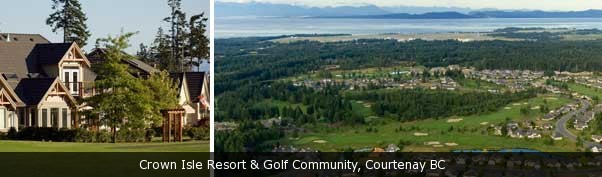 Crown Isle Resort & Golf Course, Courtenay BC, Vancouver Island Real Estate