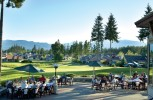 Patio Dining on the 18th Hole