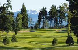 Crown Isle Fairway with Mountain View