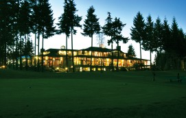 Spectacular Crown Isle Clubhouse at Twilight