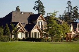 Custom Golf Course Homes