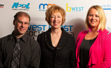 WCSM Awards team photo