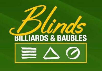 Blinds Billiards and Baubles Comox