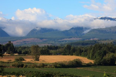 A Mountain View at The Ridge in Courtenay on Vancouver Island