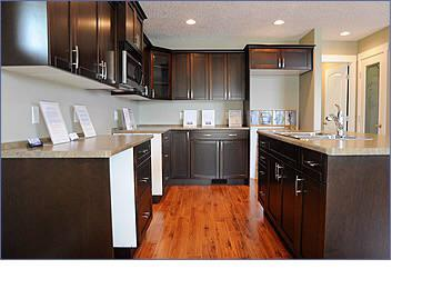 A Kitchen at RiversEdge in Courtenay, built by Southwind Development Corporation