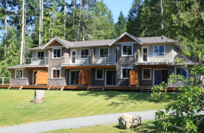 Maples waterfron vacation homes Vancouver Island