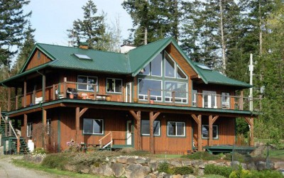 Quadra Island Custom home for sale