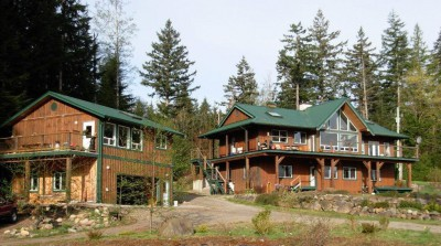 Quadra island home for sale