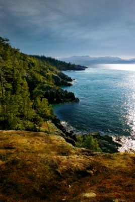 Ocean front lots Vancouver Island