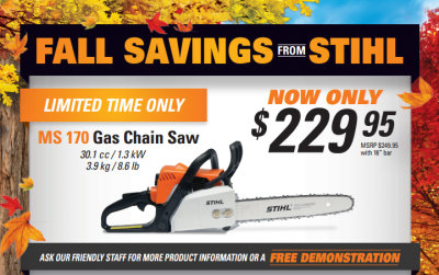 Stihl Chainsaws at WesternOne