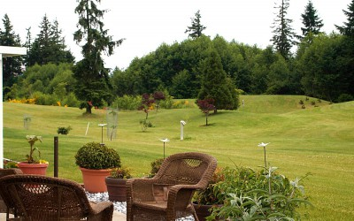Shades of Green estates Campbell River golf course patio homes