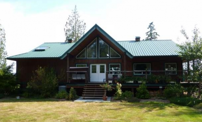 Ocean view Quadra Island home for sale