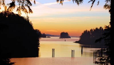 Ucluelet waterfront cottage for sale